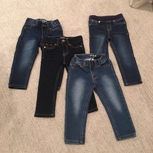 Skinny Jeans (Lot) 2T - Never Worn.